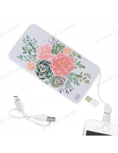"Power Bank 5000 mAh ""Півонії"""