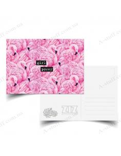 "Postcard ""Flamingo"""