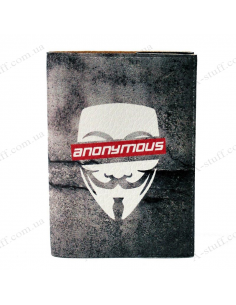 """Cover on the passport """"Anonymous"""""""