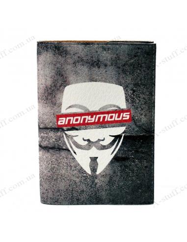 "Обкладинка на паспорт ""Anonymous"""