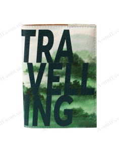"""Cover on the passport """"Travelling"""""""