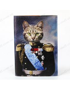 "Cover on the passport ""The Cat Emperor"""