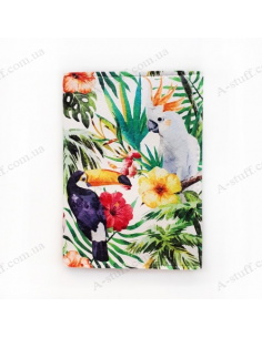 """Cover on the passport """"Tropical Birds"""""""