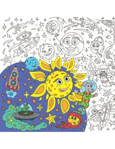 """Big coloring """"Cosmos"""""""