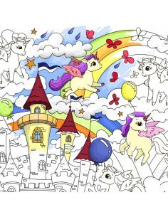"Big coloring ""Unicorns"""
