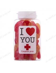 """Банка конфет """"Я люблю тебя"""""""