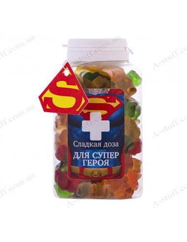 """Банка конфет """"Для Супергероя"""""""