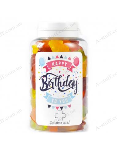 """Банка цукерок """"На день народження"""""""