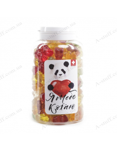 "Банка конфет панда ""Я тебя люблю"""