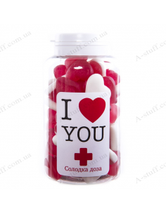 "Candy jar ""I love you"" (UA)"
