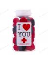 "Candy jar blackberry ""I love you"""