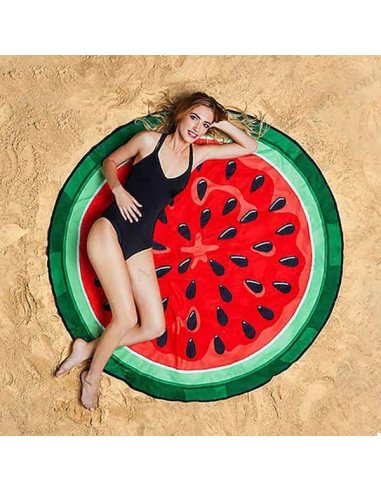 "Beach mat ""Watermelon"""