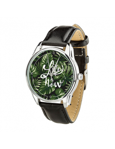 "Watch wrist must have ""Tropics: Life is Now"""