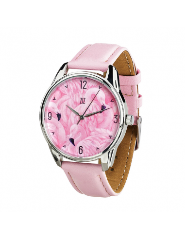 "Watch wrist must have ""Flamingo"""