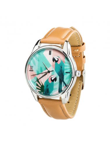 "Watch wrist must have ""A parrot"""