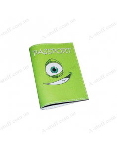 """Cover for passport leather """"Monster"""""""