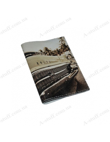 "Cover for passport leather ""Buick"""