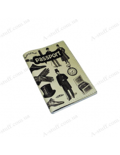 """Leather cover for the passport """"Gentleman"""""""
