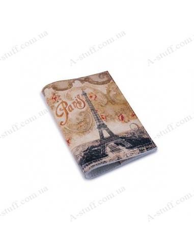 """Кожаная обложка на паспорт """"Винтажная башня"""""""
