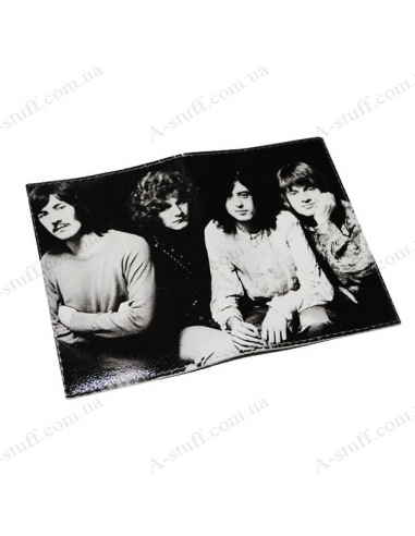 """Leather cover for the passport """"Led Zeppelin"""""""