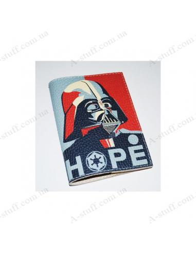 """Кожаная обложка на паспорт """"Hope"""""""