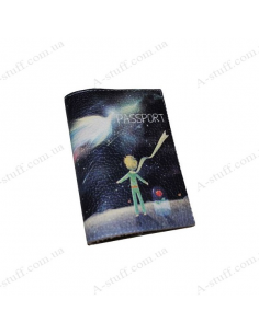 """Leather cover for the passport """"A little prince"""""""