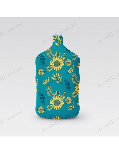 """Pouch for bottle """"Sunflowers"""""""