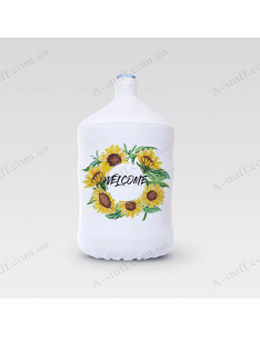"""Pouch for bottle """"Welcome"""""""