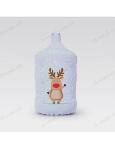"""Pouch for bottle """"Hello deer"""""""