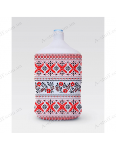 """Pouch for bottle """"Embroidery № 2"""""""