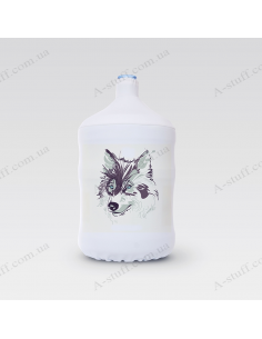 """Pouch for bottle """"Wolf"""""""