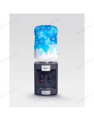 """Case for bottle """"Sky in snowflakes"""""""