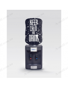 "Case for bottle ""Keep calm and drink"""
