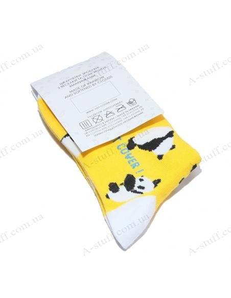 "Original socks ""Sunny pandas"""