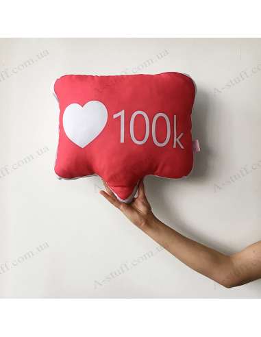 "Original pillow ""100 К"""