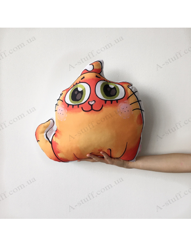 "Original pillow ""Red-headed cat"""