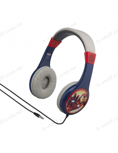 Headphones eKids MARVEL Avengers Kid-friendly volume