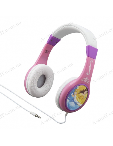 Earphones eKids Disney Princess Kid-friendly volume