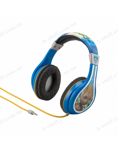 Earphones eKids MARVEL Guardians of the Galaxy, Kid-friendly volume