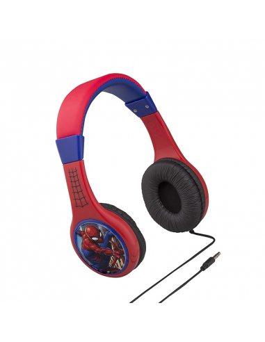 Headphones eKids MARVEL Spiderman, Kid-friendly volume, blister