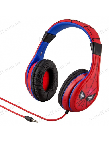 Headphones eKids MARVEL Spiderman, Kid-friendly volume, box