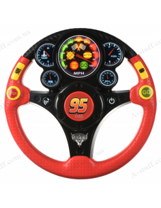 Steering Wheel Musical eKids Disney Cars, Lightning McQueen, MP3