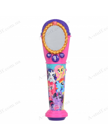 Microphone eKids Disney My Little Pony, Karaoke, Lights flash, mini-jack