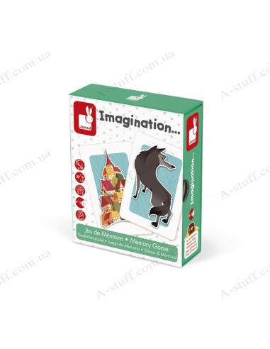 Board game memo Janod Imagination