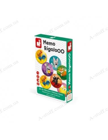 Memo board game Janod Rigolooo