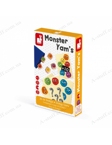 Board game Janod Monsters