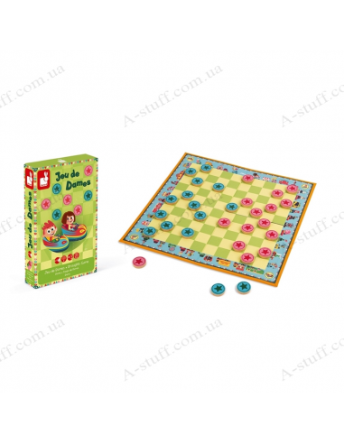 Board game Janod Checkers