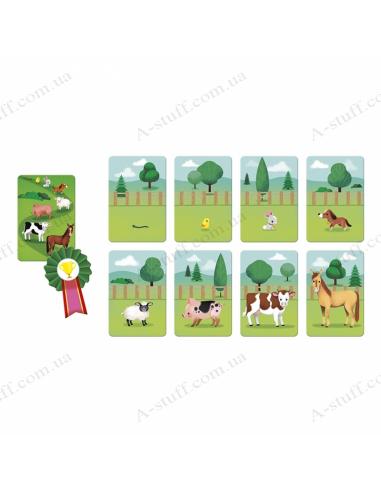 Board game Janod Farm