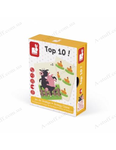 Board game memo Janod Top 10