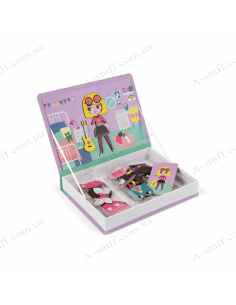 Magnetic book Janod Dresses for girls
